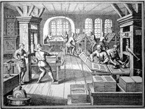 16th century printing